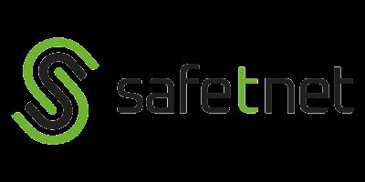 SafeTNet Logo White